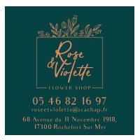 Rose et Violette